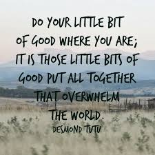 Do a little good