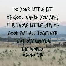 Do a little good