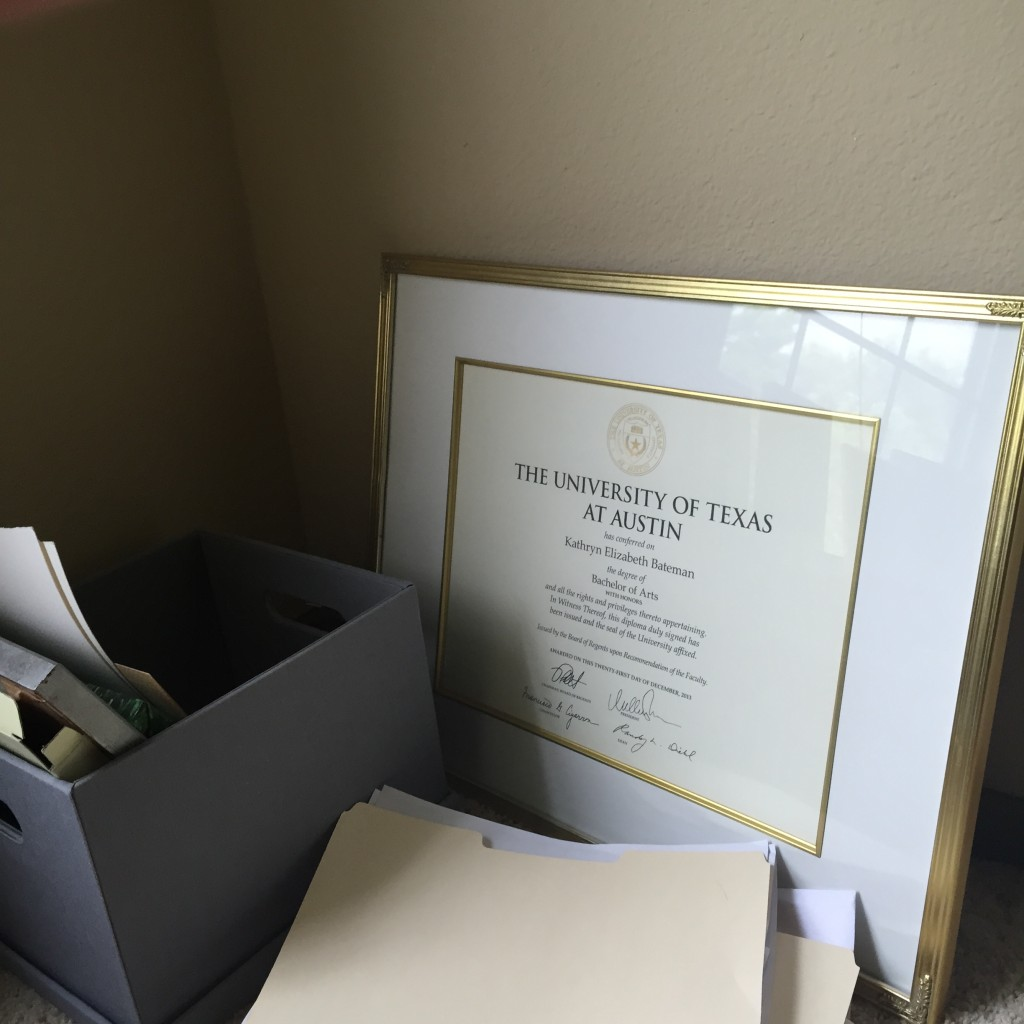 University of Texas Diploma