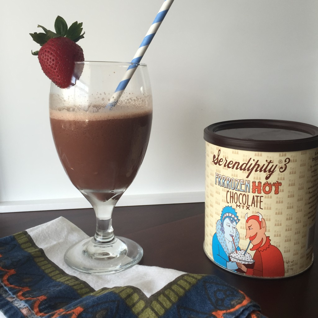 Seredipity's Frozen Hot Chocolate