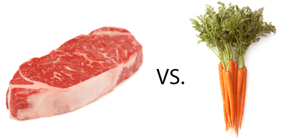 Meat vs Veggies