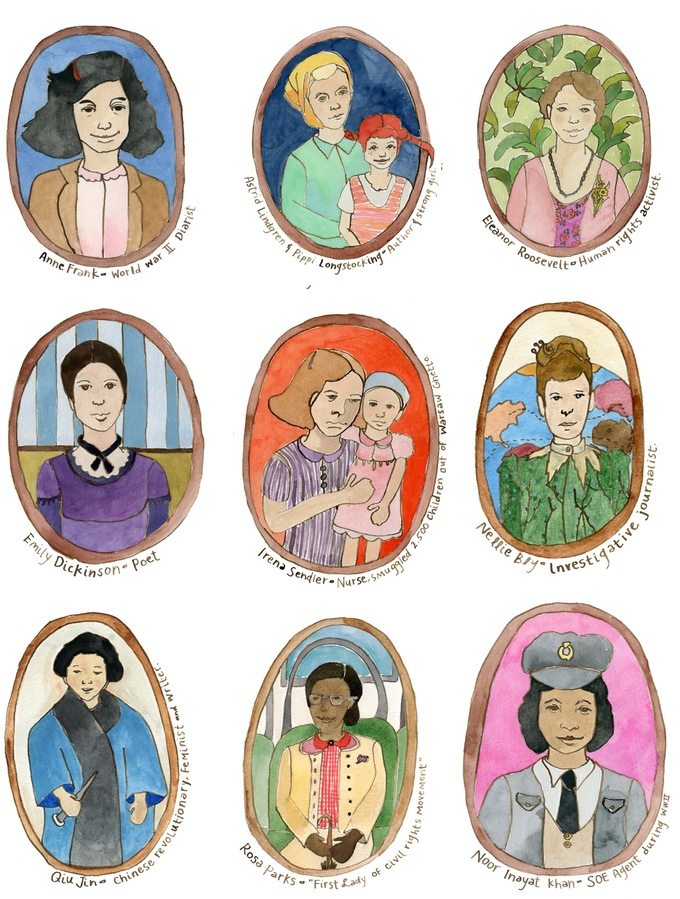 Women In History Cards