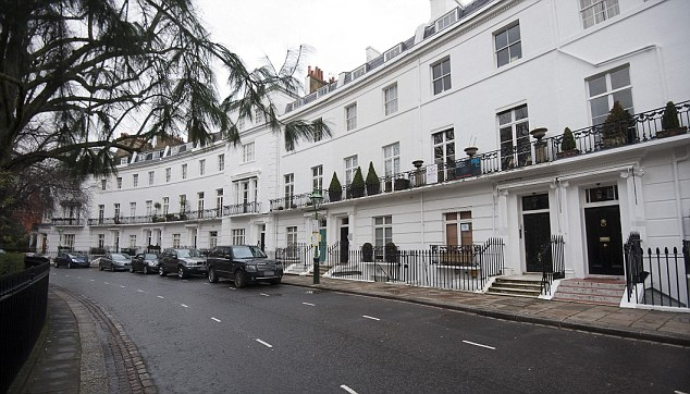 Chelsea White Row Homes