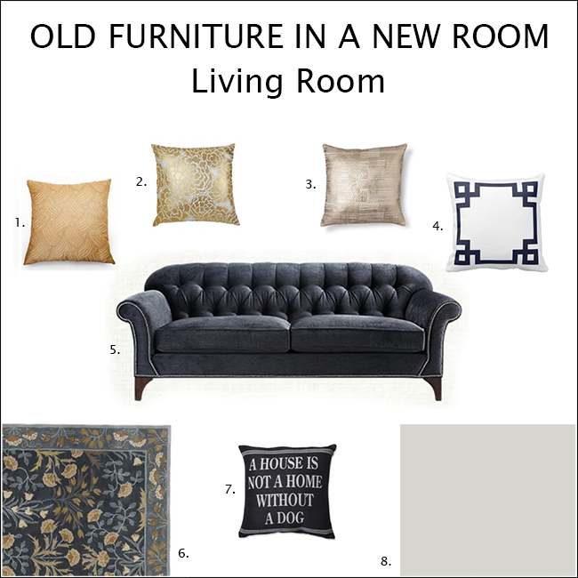 New Living Room Mood Board