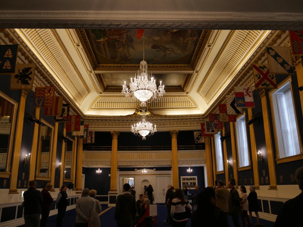 Inaugural Hall Dublin Castle