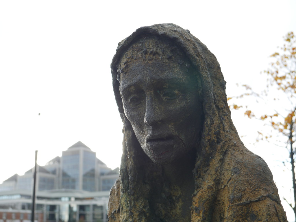 Dublin Homeless Statue