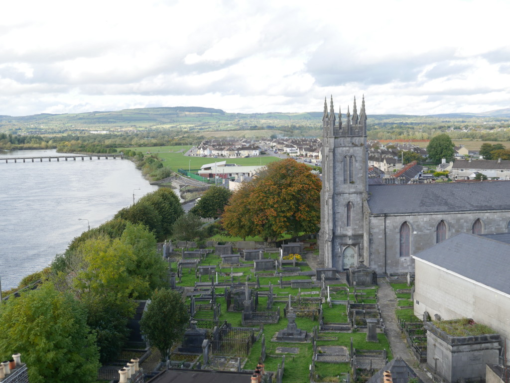 View from King John's Castle Limerick