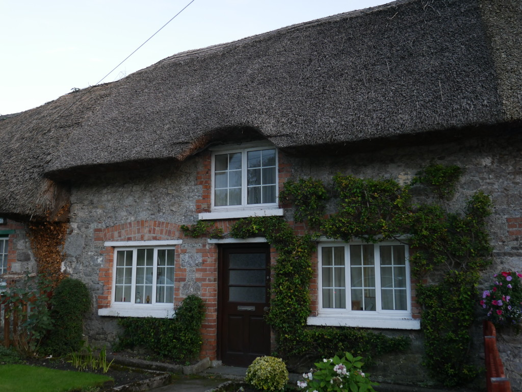 Irish Thatched Roof House