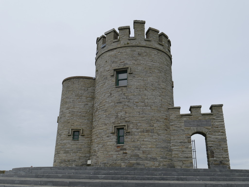Castle Tower at Cliffs of Moher