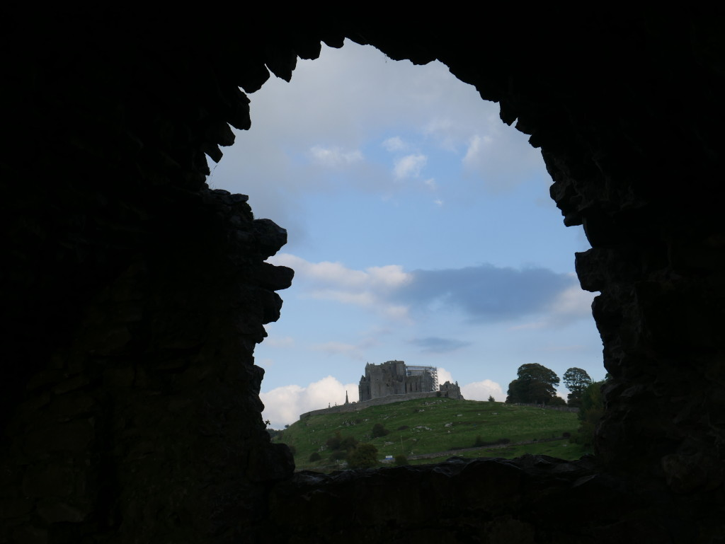 Rock of Cashel from Abby Ruin