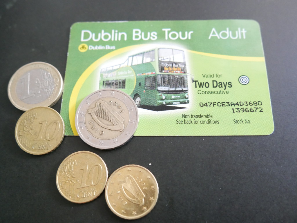 Dublin Green Bus Tour Ticket