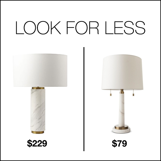 Marble Lamp Look For Less
