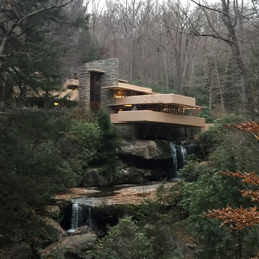 Falling Water in Autumn