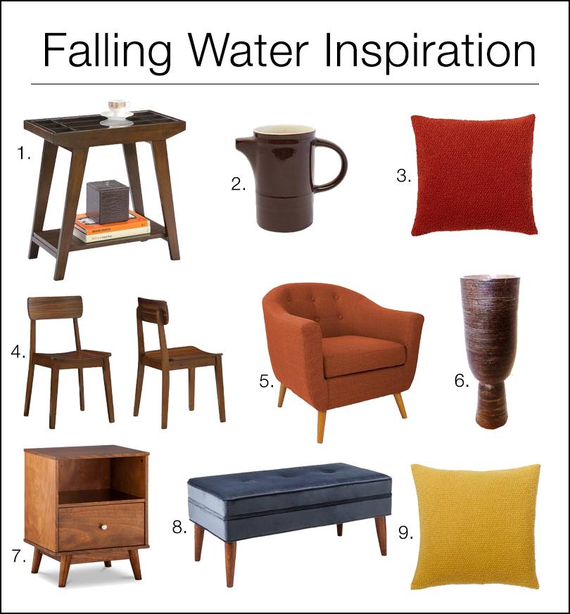 Falling Water Inspiration