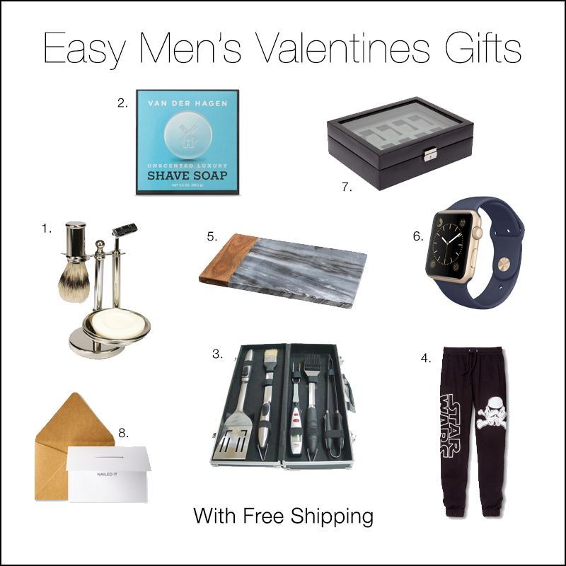 Valentines Gifts for Him (with FREE shipping) – A Little Daily ...
